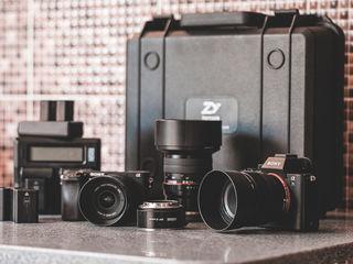 Sony 7sII+ a6300 + Crane V2