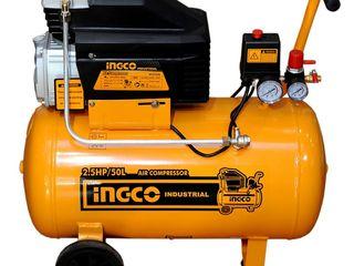 Compresor INGCO AC25508. Livrare gratuită. Posibil și în credit!
