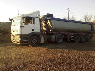 basculante, transport marfuri cereale, nisip, pietris, savura, carbune , keramzit si altele
