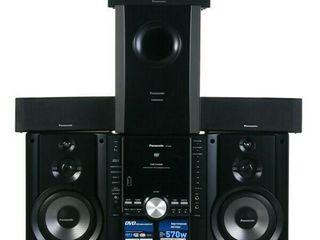 Panasonic sistema 5.1 usb.dvd.karaoke