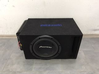 Буфер Pioneer 1400 watts+ Усилитель Renegade 1100 watts