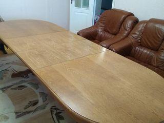 Urgent!!! Masa din lemn natural (stejar)