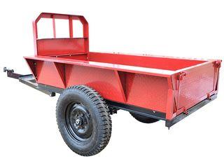 Прицеп для мотоблока 2 красный с бесплатной доставкой на дом