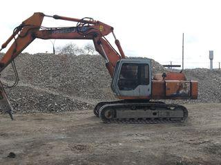 Oferim servicii excavator ciocan hidraulic/ Услуги экскаватор гидромолот.