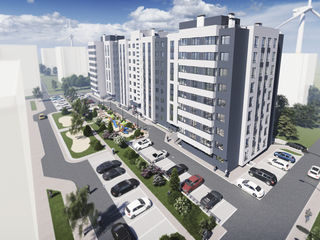 Bloc locativ Cartusa...2 odai - 68.1 m2  pret - 30.645 euro...Rate...