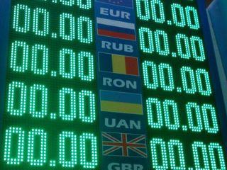 светодиодное табло обмен валют. бегущая строка.информационое панно.без посредников. panou Led