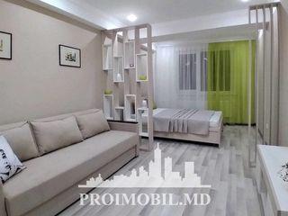 Rîșcani! 1 cameră cu living, reparație euro/autonomă! 43 mp, 51 500 euro!