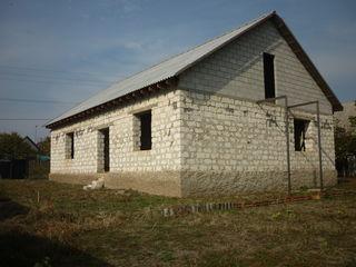 Продам новый недостроенный дом в мкрне Коржево по ул.Радужной в 400м.от Днестра!