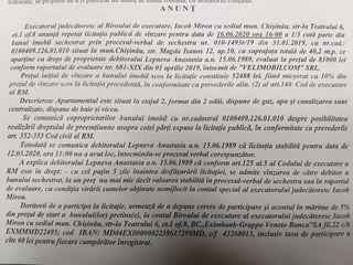 Licitatie de vinzare imobil 52.488 lei