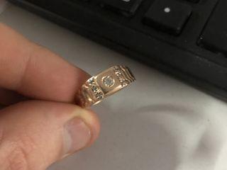 Продам мужское кольцо 585 проба