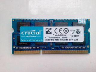 8Gb DDR3 1600MHz Sodimm - бесплатная доставка