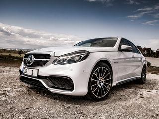Chirie/прокат Mercedes AMG E63 facelift/restyiling alb/белый