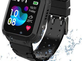 Ceas inteligent pentru copii GPS-S12 Black.