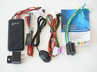 GPS tracker cu microfon