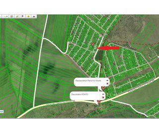 Teren drept pentru constructie cu toate comunicatiile 3 km de la oras in Tohatin! 6 ari 18500 euro!