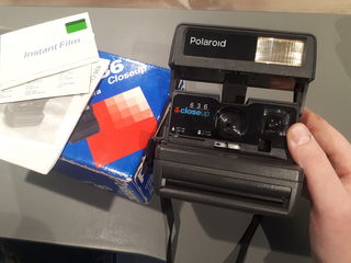 Polaroid 636   cu cutie si documente. 400 lei
