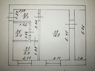 Продаётся 1-комнатная квартира по улице Октябрьская 60