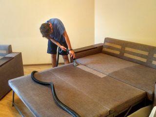 Curatare chimica mobila moale,  mocheta la domiciliu, oficiu химчистка мягкой мебели