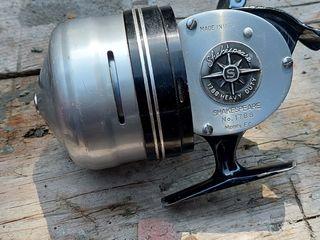 Катушка vintage shakespeare 1788 heavy duty spincasting reel! no.1788 model ec usa
