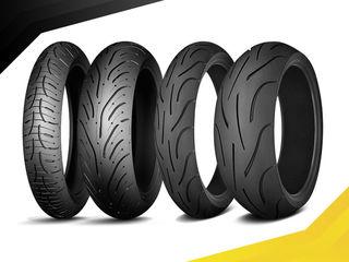 Моторезина - Michelin, Dunlop, Mitas, Bridgestone, Kooway