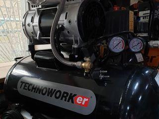 Компрессор technoworker  sk 1100-50 l / запасные части / технический сервис /  гарантия  3 года