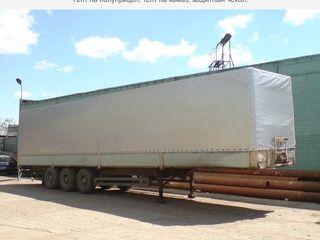 Автотент, тент на прицеп, евротент на полуприцеп, тент и каркас на грузовик