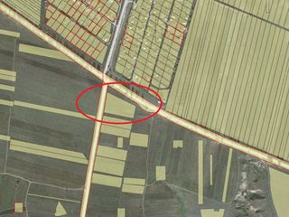 Teren 58 ari p/u constructii la traseul L314, în rate fără %!