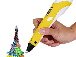 3D ручки и наборы пластика
