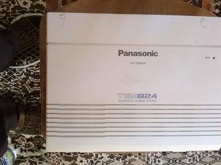 Statie telefonica Panasonic kx-tem824 16 port-uri super pret! Dau factura!