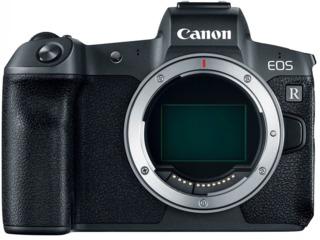 Aparat foto mirrorless Canon EOS R Body + Mount Adapter EF-RF (3075C066)