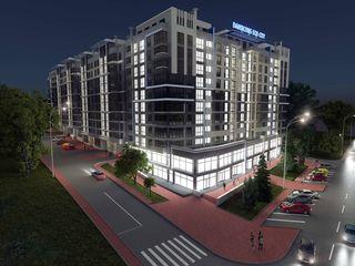 Penthouse 143 m2 cu terasă, variantă albă, Ciocana
