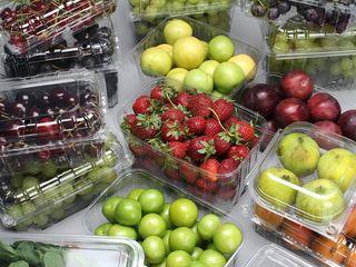 Упаковка для ягод и грибов. Ambalaje pentru legume, fructe, și ciuperci.