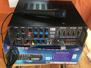 Profesoinall Karaoke,mixer-amplificator AV-308(1500 lei) !!!