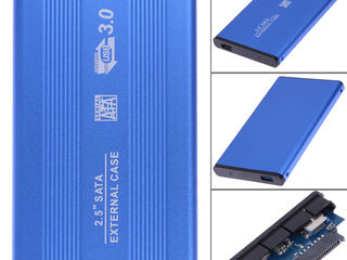 "корпус для HDD 2.5"" USB 3.0 SATA. Металл!"