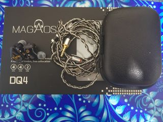 Magaosi DQ4. 2DD+2BA. Full complect.