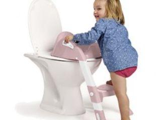 Cum deprindem ușor copilul să stea pe WC? Adaptor unitaz. Nou! Livrare gratuită! Priviți video!