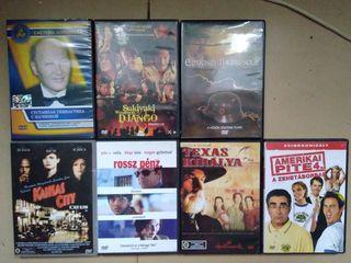 DVD диски с фильмами. На языке оригиналала. 7 штук. Оригинальные. За все вместе 100 лей.