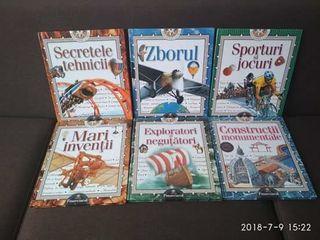 Enciclopedii pentru copii 6 volume