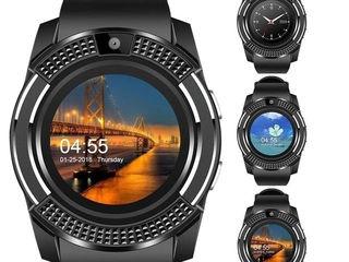 Smart watch new. Телефон, камера. Удобное расположение компонентов, классическая удобная застежка.