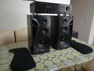Kenwood KR A47 Hi Fi AM/FM stereo receiver + Akai SR790
