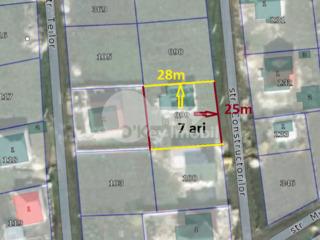 Teren pentru construcții, 7 ari, zonă liniștită Bubuieci 28000 €