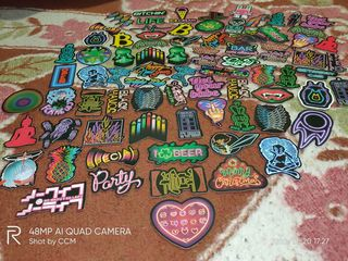 Stickers, Abtibilduri, наклейки