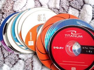 Продаю CD-R, DVD-R, DVD+RW диски новые