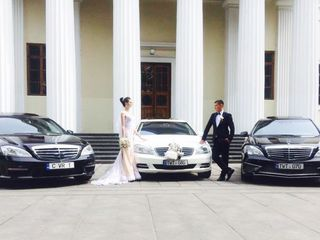 Mercedes S-class alb/negru cu sofer, pentru Nunta ta!!! 109€/zi
