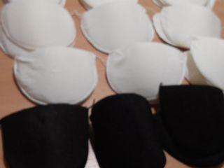 Подплечики для одежды, блестки-снежинки  для отделки вещей