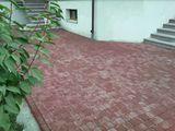 Укладка тротуарной плитки Amenajam ograzi, parcari cu Pavaj la pret negociabil