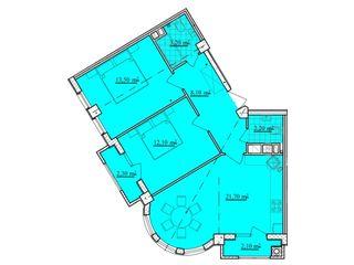 Dansicons, Buiucani, Apartament cu 2 odai, living+bucatarie, Zona de park.