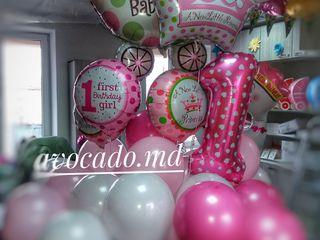 Externarea din maternitatea baloane cu heliu Decor din выписка из роддома декор воздушными шарами !