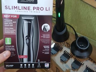 Триммер Andis D-8 SlimLine Pro Li Pentru frezeri de elite. BarberShop