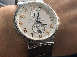 Ulysse Nardin Marine Chronometer Eggshell Dial оригинал
